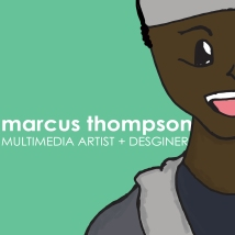 Marcus Thompson Face Graphic